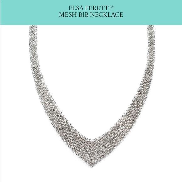 beae9f6d2 Tiffany & Co. Jewelry | Nwot Tiffanyco Elsa Peretti Mesh Bib ...